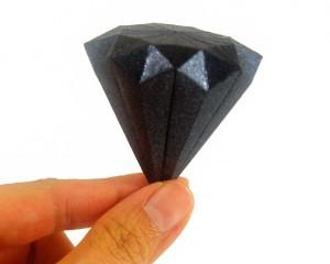 Как сделать из бумаги кристаллики 838