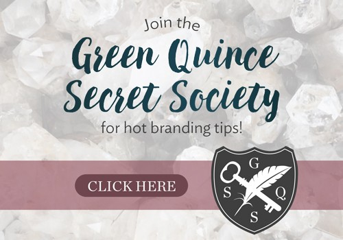 Green Quince Secret Society