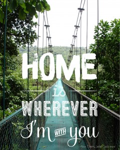 Home is Wherever I'm with You Photo Version